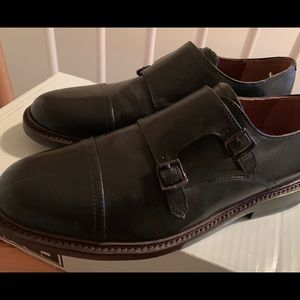 XMAS SPECIAL! FRYE JONES DOUBLE MONK SHOES SZ 7